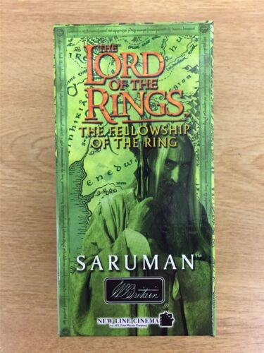 Britain Lord Of The Rings Fellowship Of The Ring Hand Painted Figure Saruman W