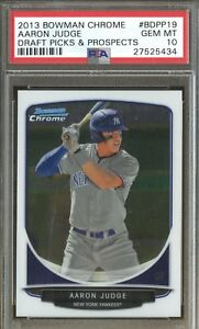PSA-10-AARON-JUDGE-2013-Bowman-Chrome-Draft-Yankees-Rookie-Card-RC-GEM-MINT-QTY
