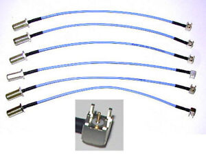 1-FLEXIBLE-9-75-034-MICROWAVE-COAX-CABLE-F-to-PCB-SS-405