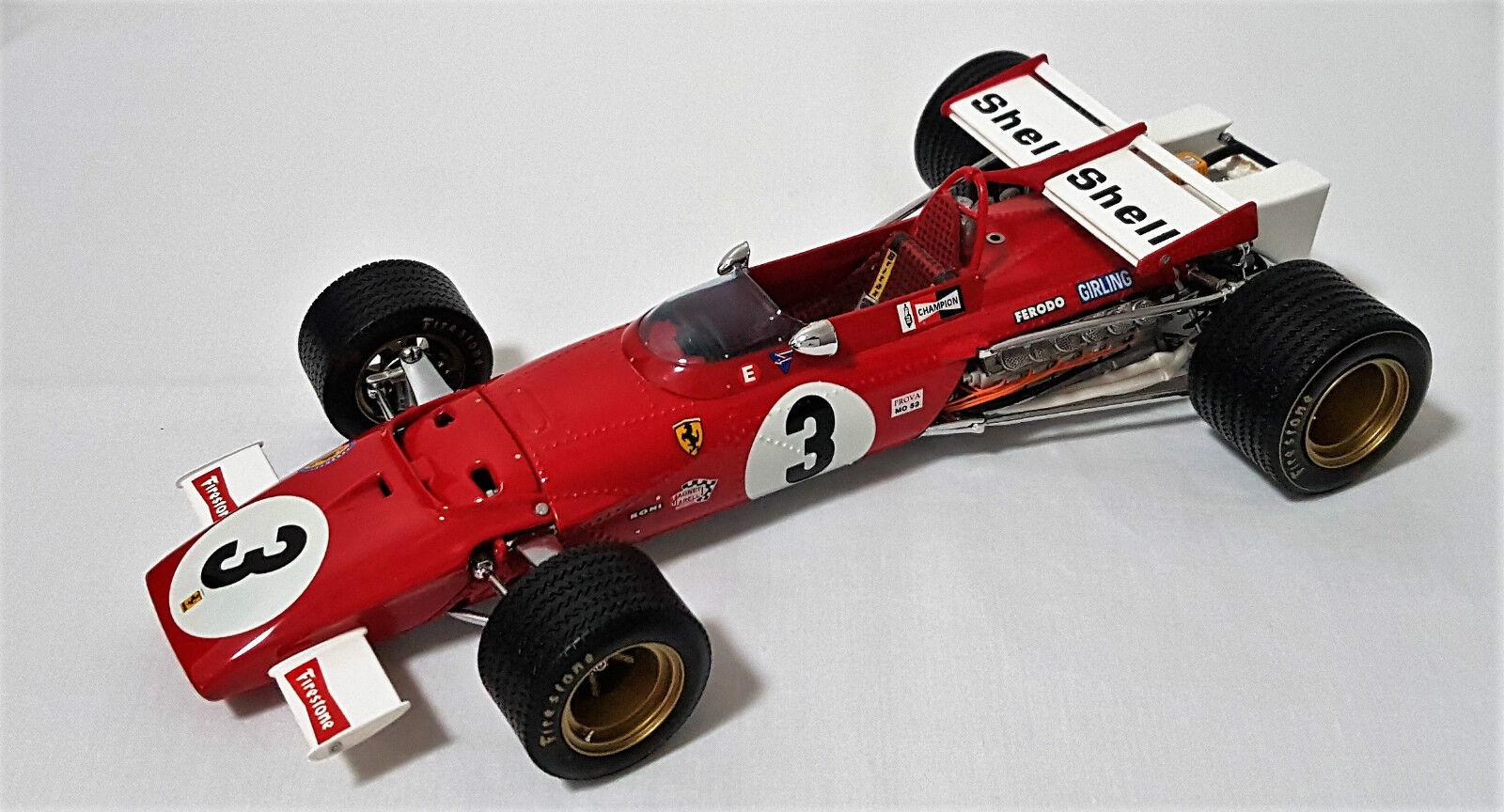 Exoto GPC97060-Ferrari 312B Jacky § 1970 mexicano F1 Grand Prix ganador