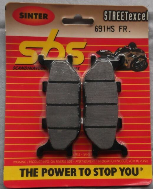 Yamaha XJ6 600 Diversion 09 /> ON SBS Front Brake Pads Sinter Set OE 691HS