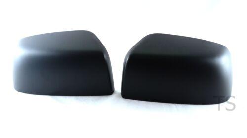MATTE BLACK MIRROR L+R COVER TRIM FOR ISUZU D-MAX HOLDEN DMAX 2012-2015 TRUCK