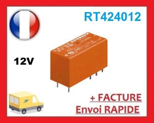 Te connectivity rt424012 relay 12v dc 2xum power pcb relay 855262