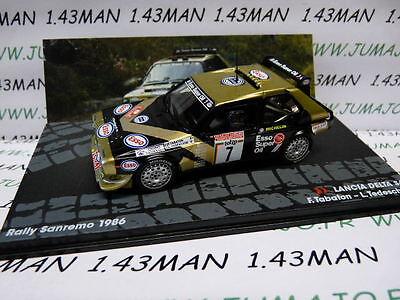voiture 1/43 IXO Altaya Rallye : LANCIA DELTA S4 SanRemo 1986 TABATON