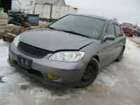 JUST IN FOR PARTS!! WS5696 2005  HONDA CIVIC Woodstock Ontario Preview