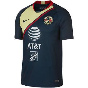 f70ca3e3e Nike Club America DF 2018 - 2019 Away Soccer Jersey New Navy ...