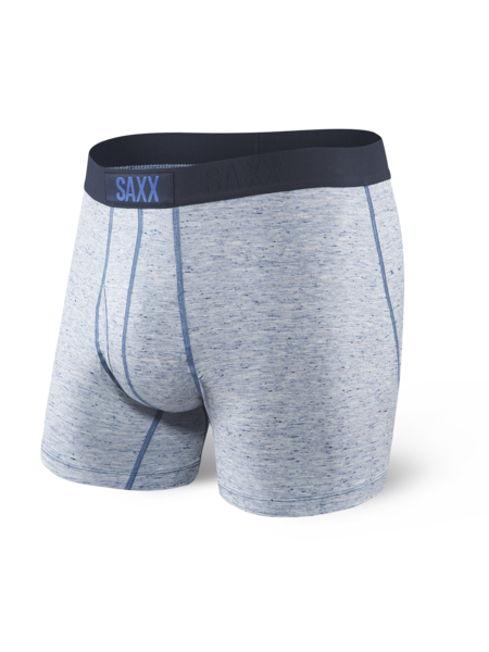 e670810bcad SAXX Mens Underwear Ultra Boxer Brief Fly Stream Heather Size S (30 ...