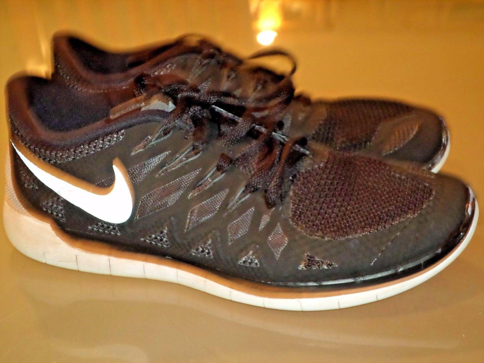 Nike libera 5,0 dimensioni 9.5 9.5 9.5 nylon neri merletto bianco solo lavato un po 'indossare pulita | Alta qualità ed economico  | Uomo/Donna Scarpa  dbd8a3