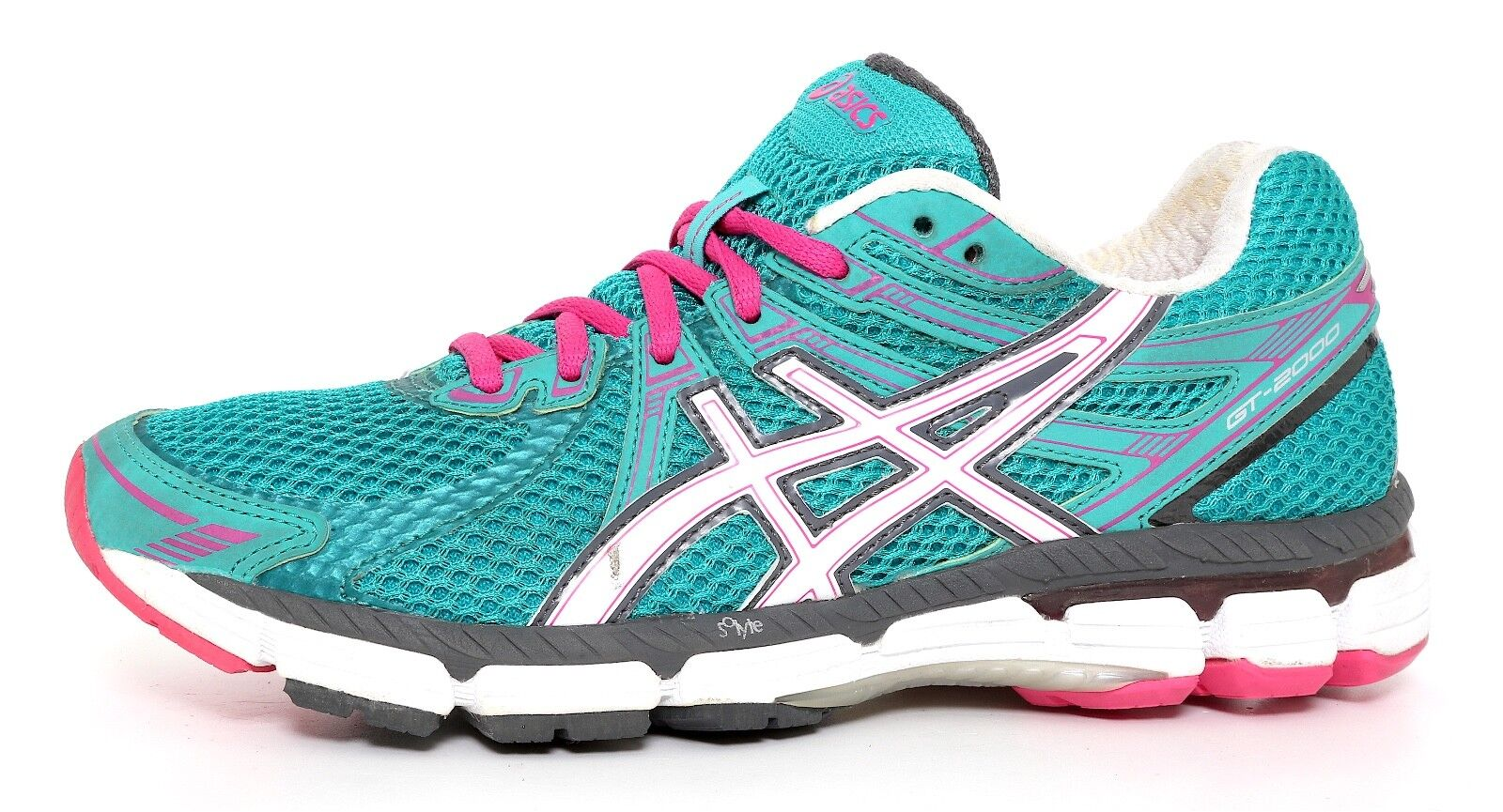 Asics GT 2000 Running Shoes Turquoise Donna Sz 7.5 5085