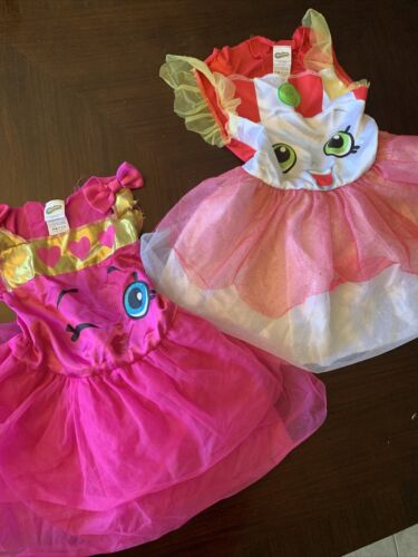 Lot Of 2 Shopkins Costumes One Is D'Lish Donut Siz