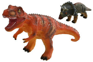 "Gros 13"" dinosaure avec Sound-TY185 T Rex Triceratops Dino Roar Enfants Jouet Fun  </span>"
