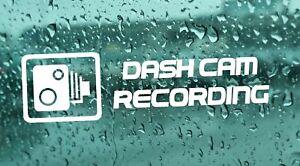 4x-Dash-Cam-Recording-CCTV-Warning-Car-Sticker-vinyl-Laptop-Bumper-window-JDM