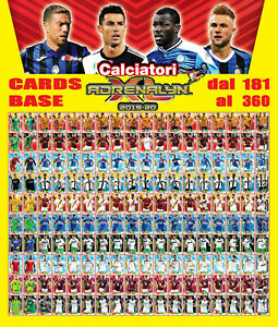 CALCIATORI-ADRENALYN-XL-2019-20-2019-20-2020-card-base-dal-181-al-360