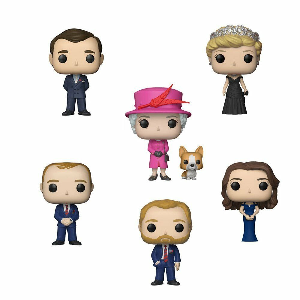Pop  Royals Set of 6 Vinyl Figures by Funko
