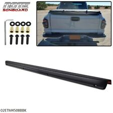 New Tailgate Spoiler Cap Molding Top Protector Fit For 99 06 Silverado Sierra Fits Chevrolet