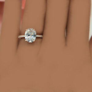Diamond Engagement Ring Oval Shape Diamond 2 25 Carat Gia Certified