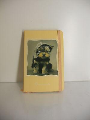 Affidabile Mini Quaderno Rachel Hale Copertina Cane Con Elastico Nuovo 9 X 14