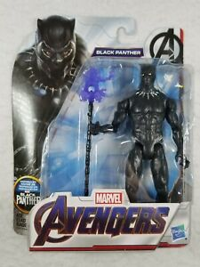 """Hasbro Marvel Avengers Black Panther w/ Spear 6"""" Action Figure - Free Shipping!"""
