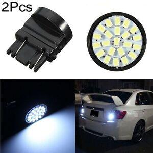 Details About 2pcs Xenon 3157 3057 22 Smd 1206 Car Led Bulb Brake Tail Stop Rear Light 2017