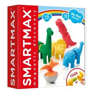 Smartmax-mes-premiers-Dinosaures-Magnetique-Set-14-pcs