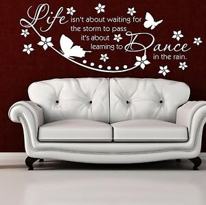 Wall-Quote-Live-isn-039-t-about-waiting-for-the-storm-to-pass-Wall-Sticker-Decal-NR3