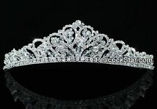 Swarovski Crystal Butterfly Bridal Tiara Prom, Quinceanera,  Sweet 16 , Birthday