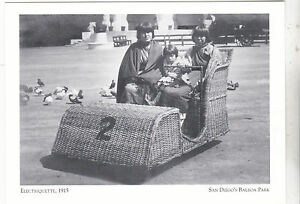 Postcard-034-The-Electriquette-1915-034-Wicker-Cars-San-Diego-039-s-Balboa-Pk-143