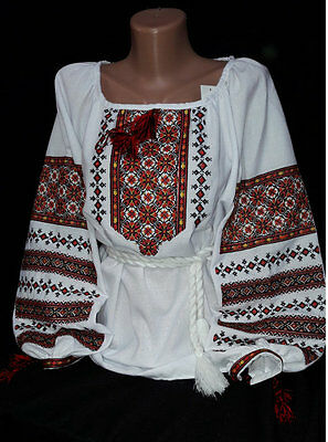 Ukrainian Embroidered Blouse women Sorochka Vyshyvanka Tradition Shirt