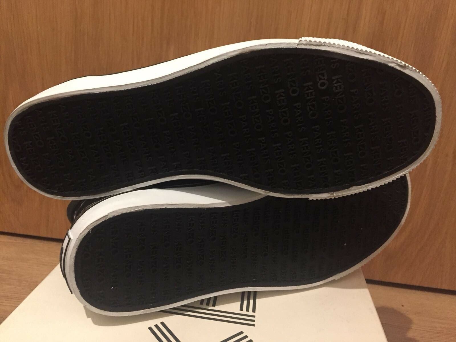 Stampa SU TELA Kenzo Eye scarpe da ginnastica Alte    EU 40 d68996