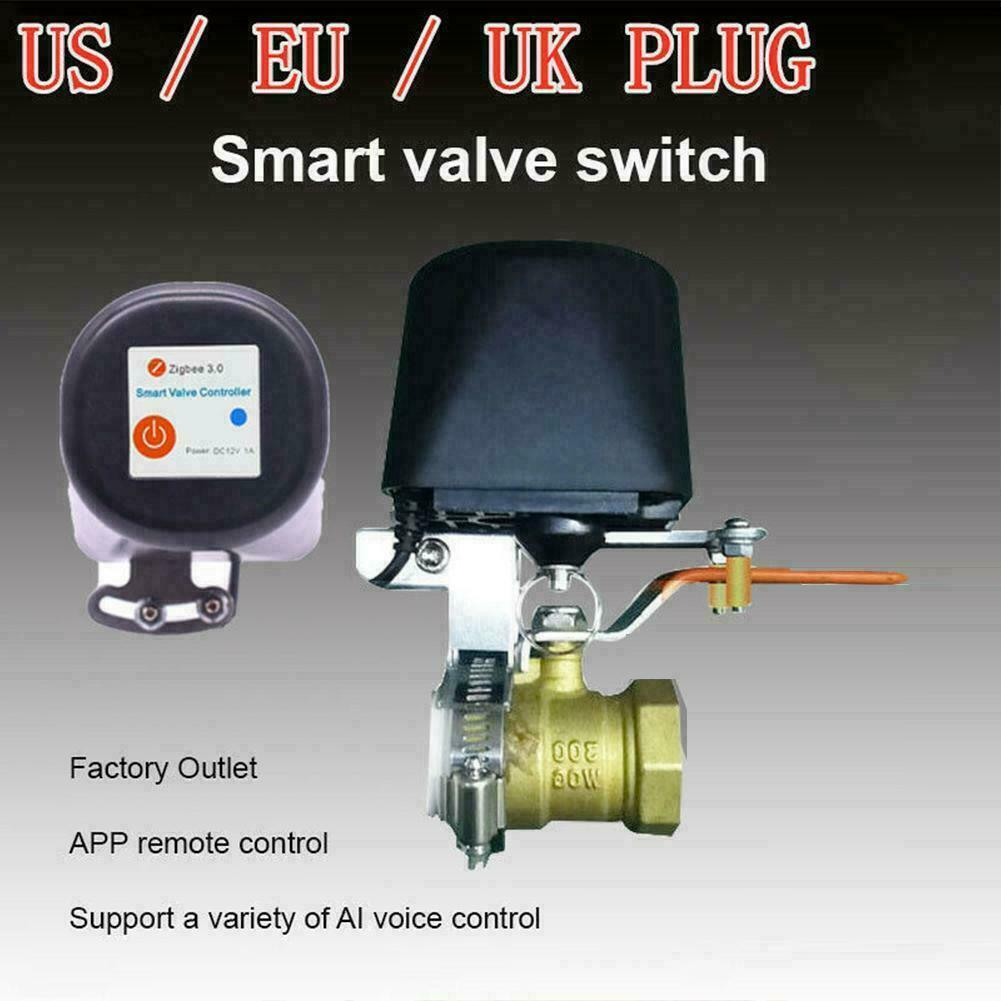 WiFi Water Gas Valve Controller Switch For TUYA Smart H Control 8 Voice N6I9