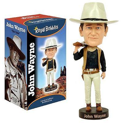 John Wayne Cowboy Limited Edition Bobbleheads Headknocker Royal Bobbles 20cm Prezzo Più Conveniente Dal Nostro Sito