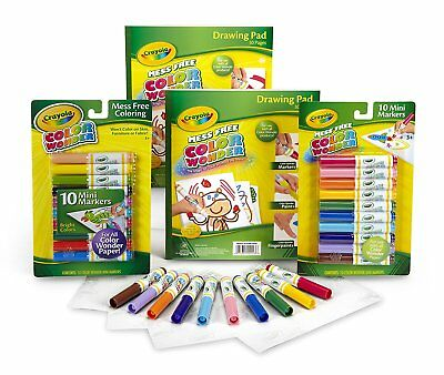 /& Paint! Crayola Color Wonder Markers Mess Free Papers Choose your model