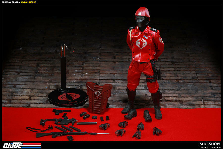 Sideshow Crimson Guard 12 inch Figure 1 6 item number 100039