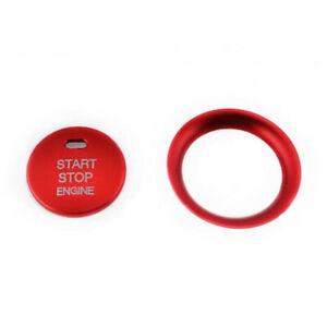 Motore-Start-Stop-Pulsante-Cover-Orlo-per-Mazda-3-Axela-CX-3-CX-4-CX-5-Rosso