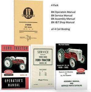 lot  ford  tractor manuals shop operators parts catalog