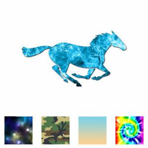 Horse-Mustang-Running-Vinyl-Decal-Sticker-Multiple-Patterns-amp-Sizes-ebn381