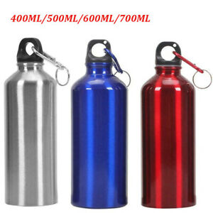 Stainless Steel Sport Bottle Straight Drunk Bicycle Travel Kettle 700ML Outdoor