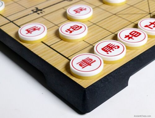 MAGNETIC TRAVEL SET 830 CHINESE CHESS XIANGQI 9½ inch BOARD
