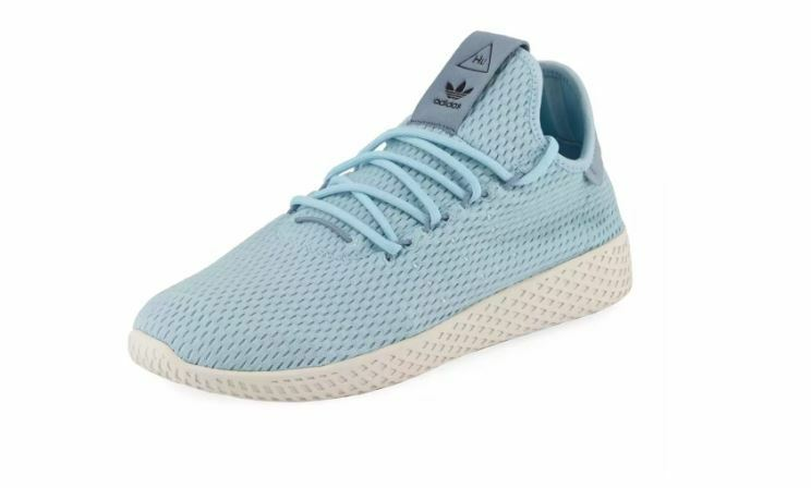 Adidas Originals x Pharrell Williams Hu Race Sneakers in bluee Men's Size  5