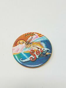 Vtg-Sol-imported-beer-tin-pinback-breweriana-advertisement
