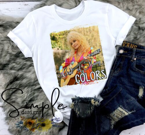 Coat Of Many Colors T-shirt Dolly Parton Country Music Legend Custom Printed