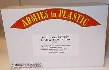 Armies in Plastic 5696 - British Gun Battery - Egypt & Sudan 1882-1898      1/32
