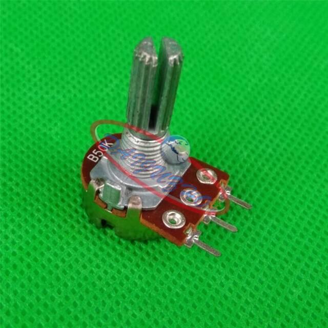 2PCS RD1480-01A 50K OHM 20mm Linear Taper Potentiometer Pot B50K New