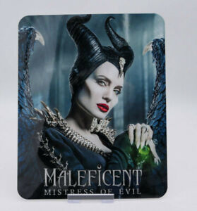 MALEFICENT-2-Glossy-Bluray-Steelbook-Magnet-Magnetic-Cover-NOT-LENTICULAR