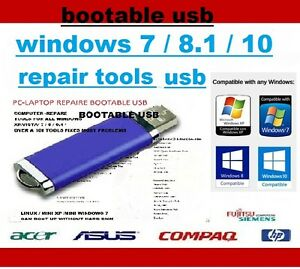 COMPUTER REPAIR USB   DIAGNOSE PC LAPTOP WINDOWS 78 VISTA XP - <span itemprop='availableAtOrFrom'>Bellshill, United Kingdom</span> - COMPUTER REPAIR USB   DIAGNOSE PC LAPTOP WINDOWS 78 VISTA XP - Bellshill, United Kingdom