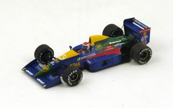 Lola LC89 E. Bernard 1989  29 11th French French French Gp 1 43 Model S2976 SPARK MODEL 3582a1