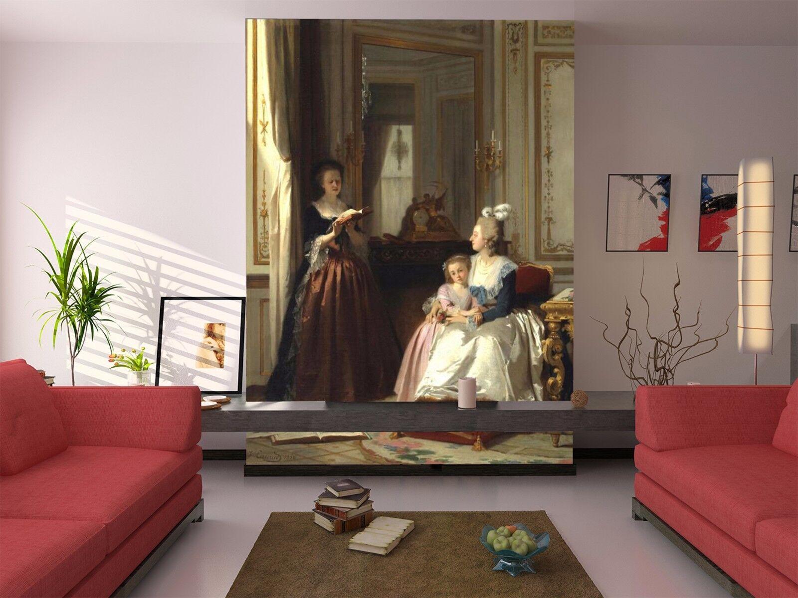3D Read aloud 4523 Wall Paper Wall Print Decal Wall Deco Indoor Wall Murals