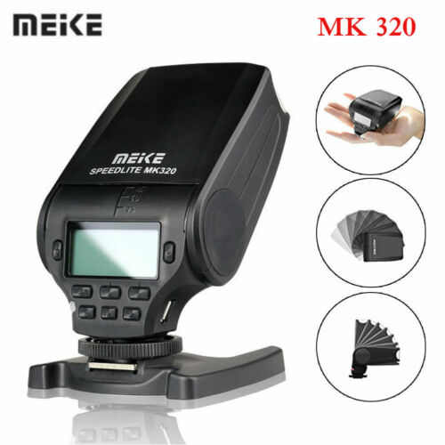 Meike MK320P Rotatable LCD Screen TTL Speedlite Flash for Panasonic Olympus S1