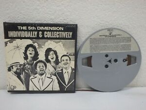 THE-5th-DIMENSION-Individually-amp-Collectively-3-IPS-4-Track-Reel-Tape-BEM-6073
