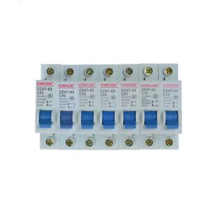 10-63A-Circuit-Breaker-DZ47-63-230-440V-1-Pole-Overload-Proetction-Switch-2yo